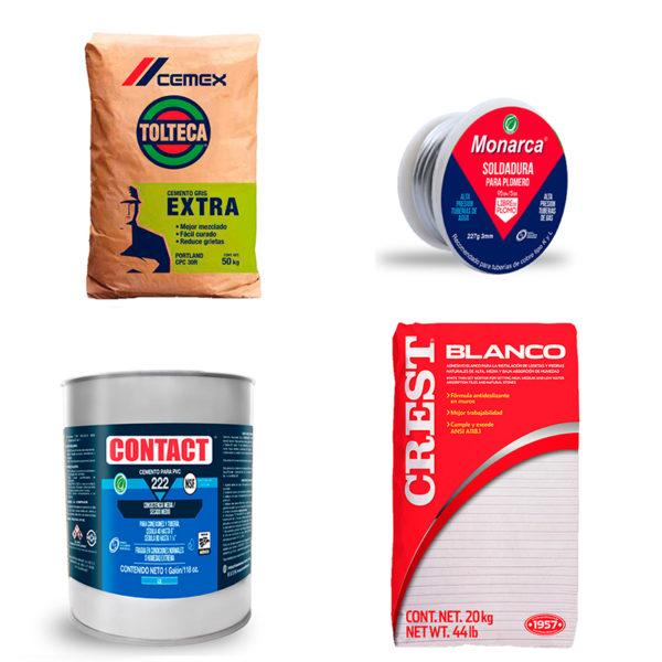 Adhesivos, Cementos, Pegamentos, Selladores y Silicones